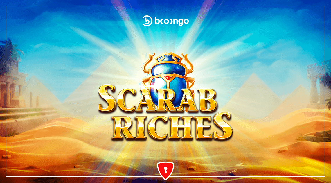 Players Unearth the Wealth of Ancient Egypt in Booongo's New Slot, Scarab Riches