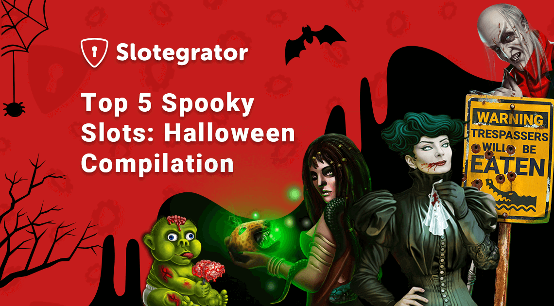 Top 5 Spooky Slots: Halloween Compilation