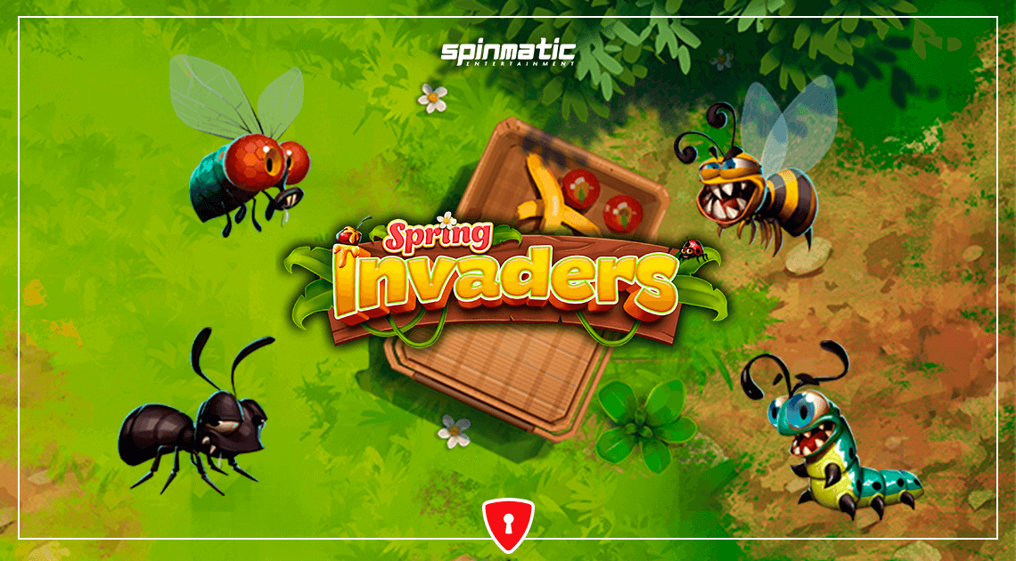 New Game From Spinmatic: Spring Invaders