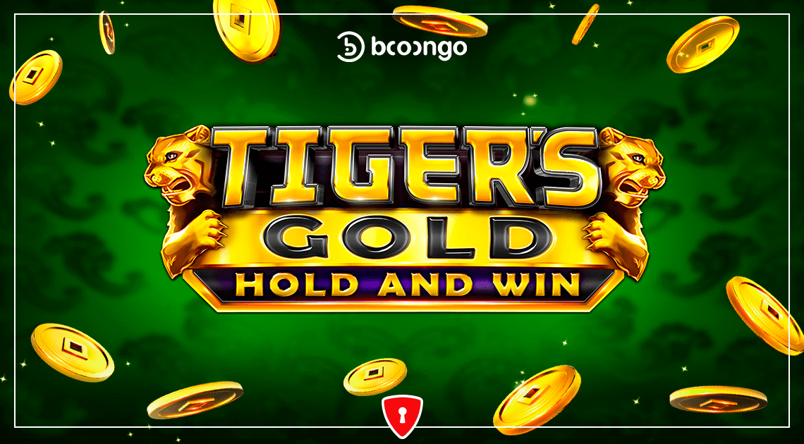 Tiger's Gold: Hold and Win - new slot from Booongo