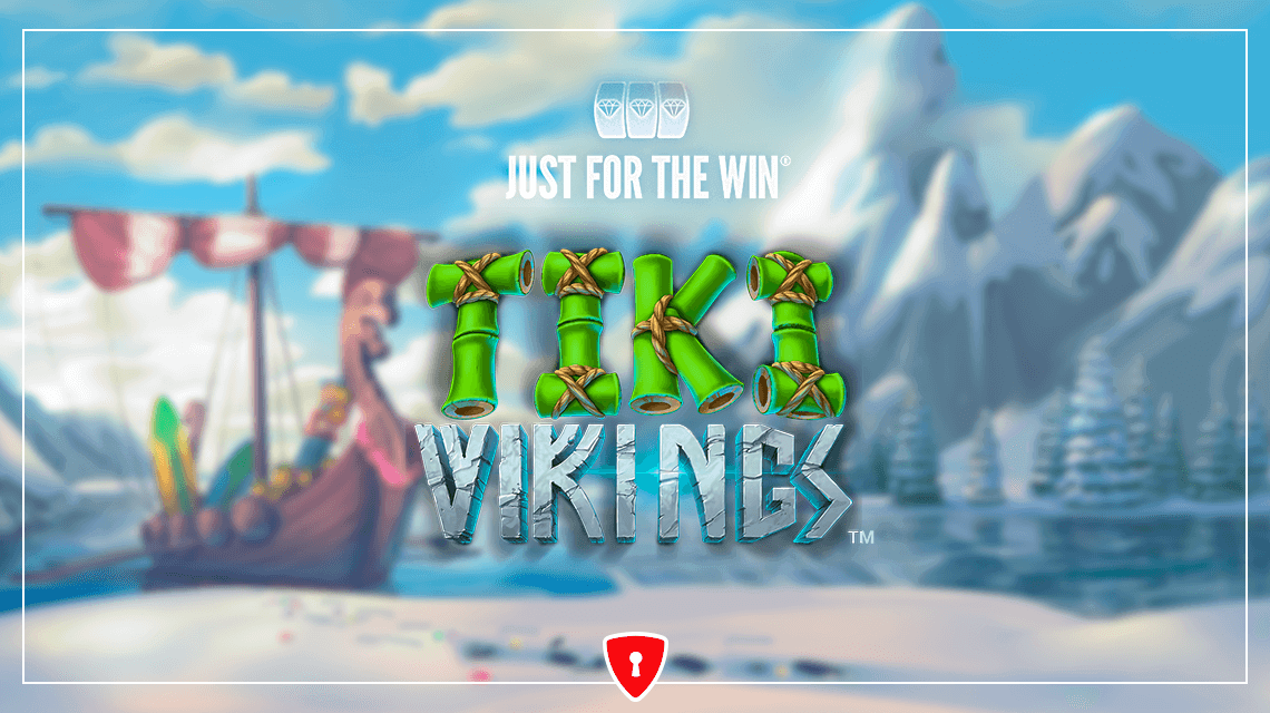 Scandinavian Warriors Return from Vacation in the Tiki Vikings Slot from Just For The Win