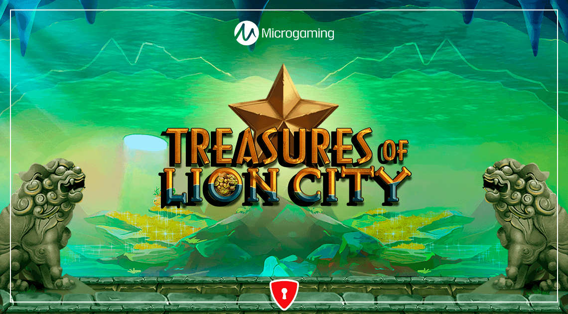 New Game From Microgaming: Treasures of Lion City