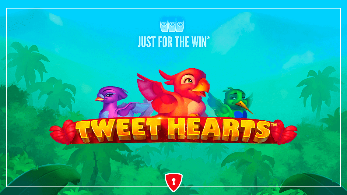 Parrots in Love Chirp for Joy in Just for the Win's New Slot, Tweethearts