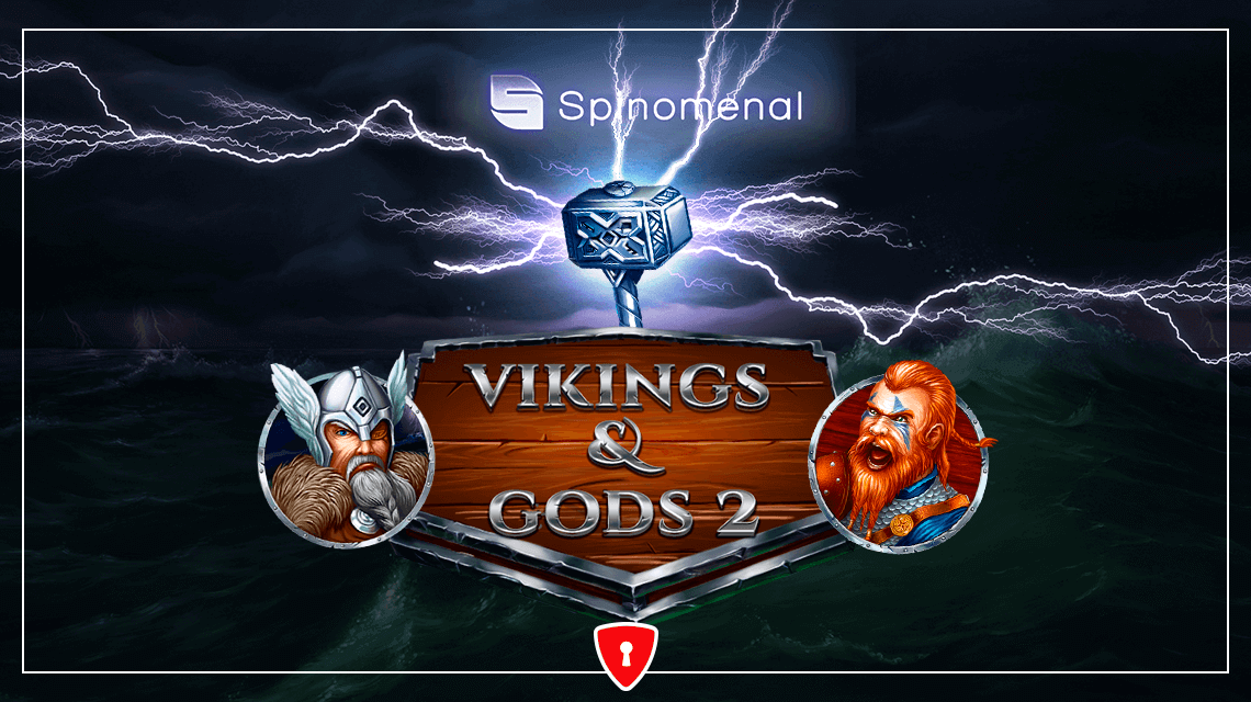 Norse Warriors Are Back in the New Slot Vikings & Gods II 15 Lines from Spinomenal
