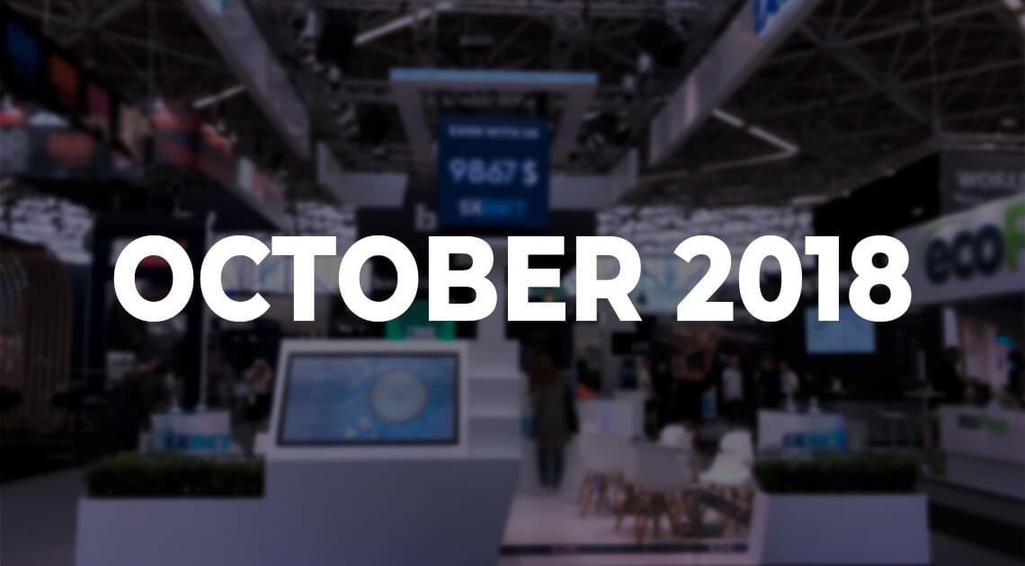 7 Key iGaming Events in October