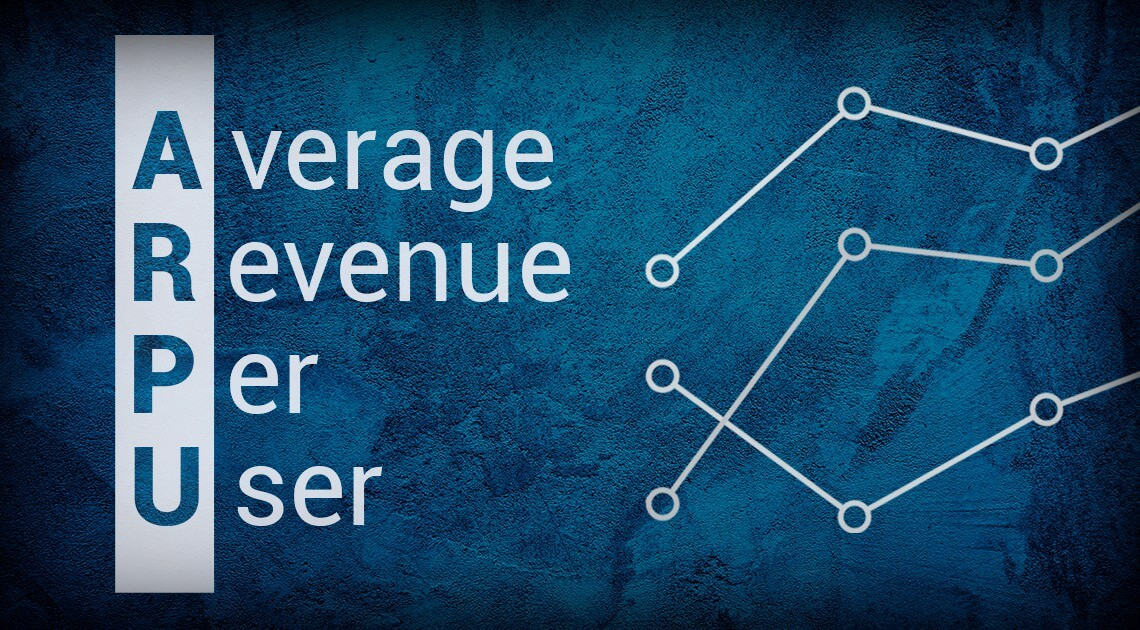What is average revenue per user in an online casino?