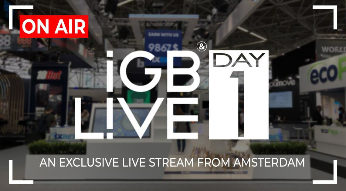 iGB Live 2018: Online Stream (Day One)