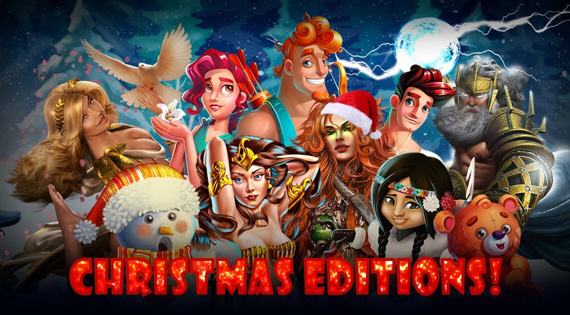 Spinomenal Prepares Christmas Promo for Popular Games