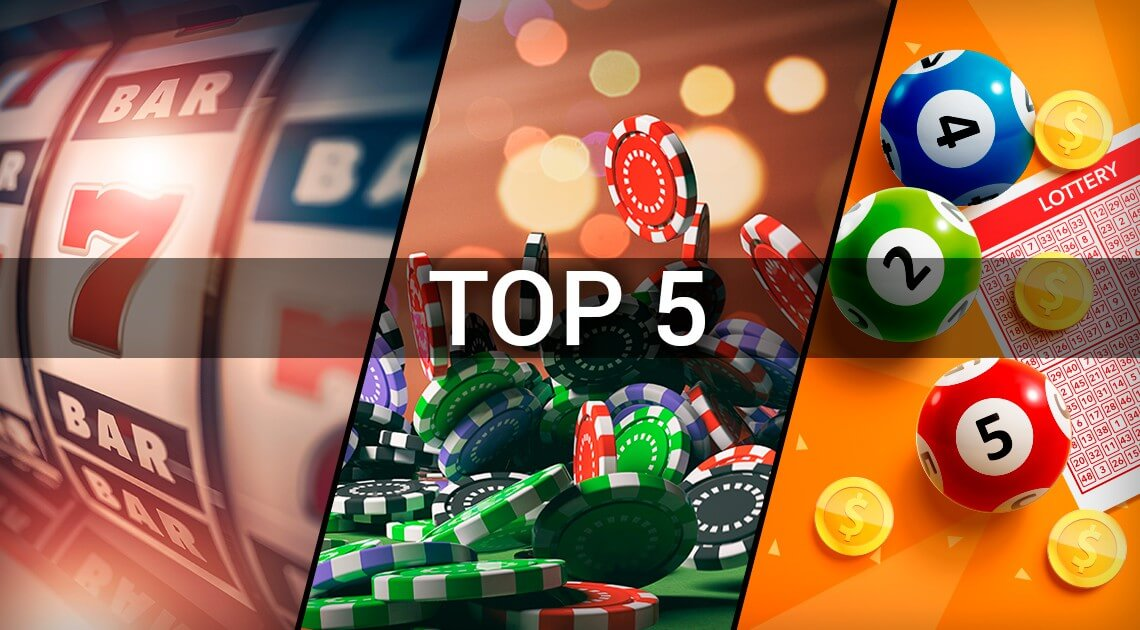 Rating of 5 Best Gambling Games