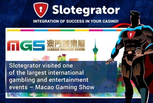 Results of Slotegrator's visit to an international exhibition Macao Gaming Show 2015 dedicated to gambling