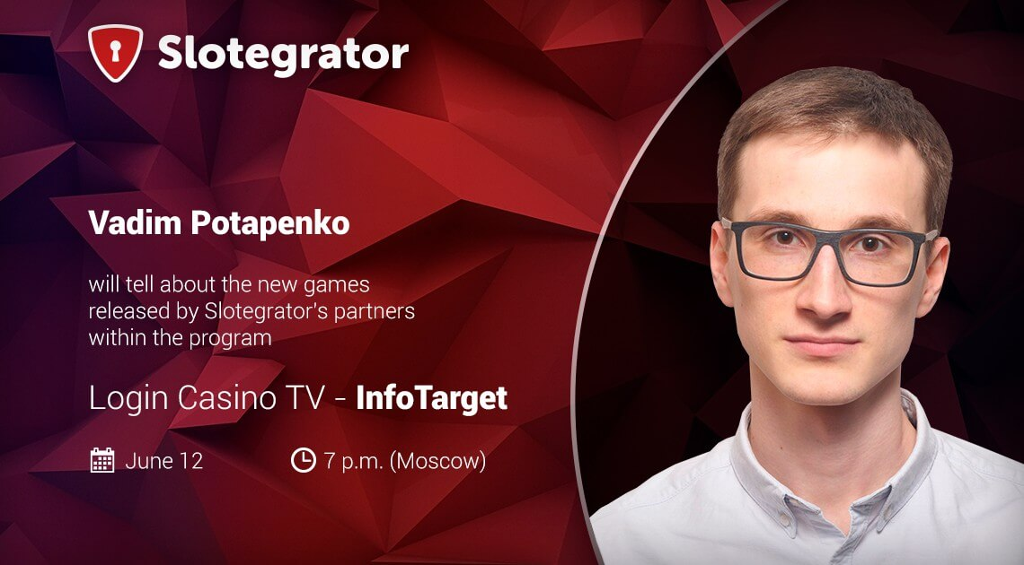 Slotegrator is the first guest in a new program from Login Casino TV