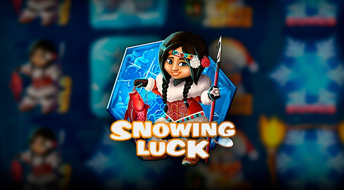 Find out how lucky you are with Spinomenal's new slot Snowing Luck