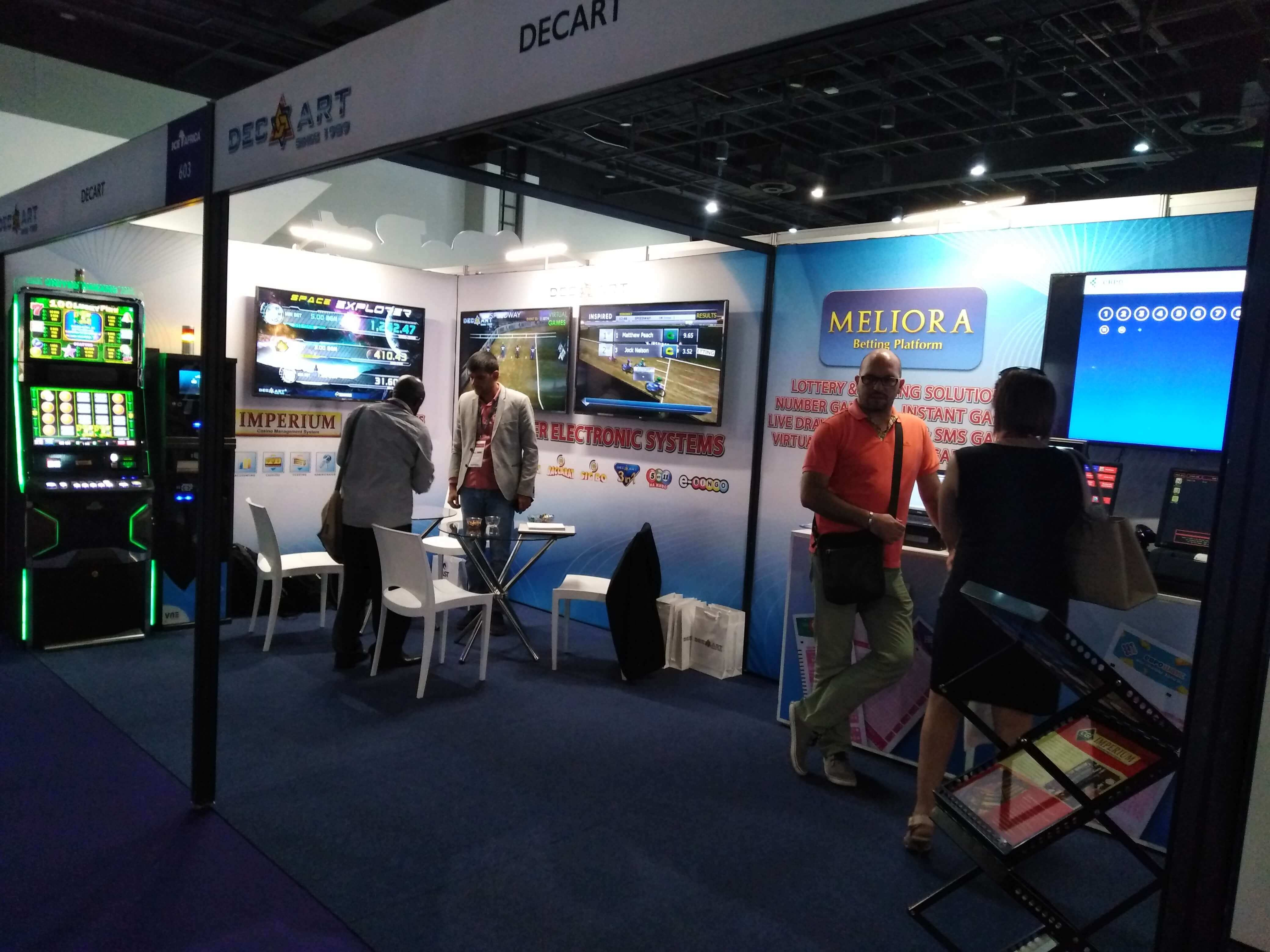 DecArt at ICE Africa 2018 - Slotegrator