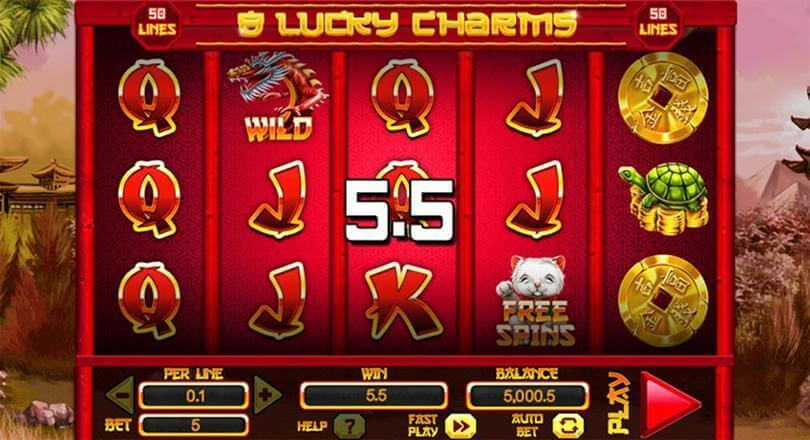 Spinomenal released a new version of the popular 8 Lucky Charms Xtreme slot 1