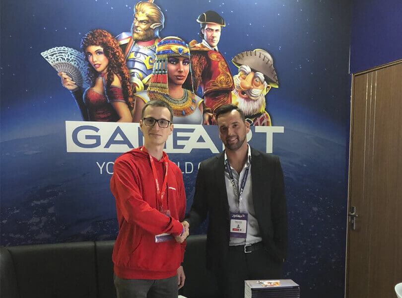 GameArt and Slotegrator at SiGMA 2018