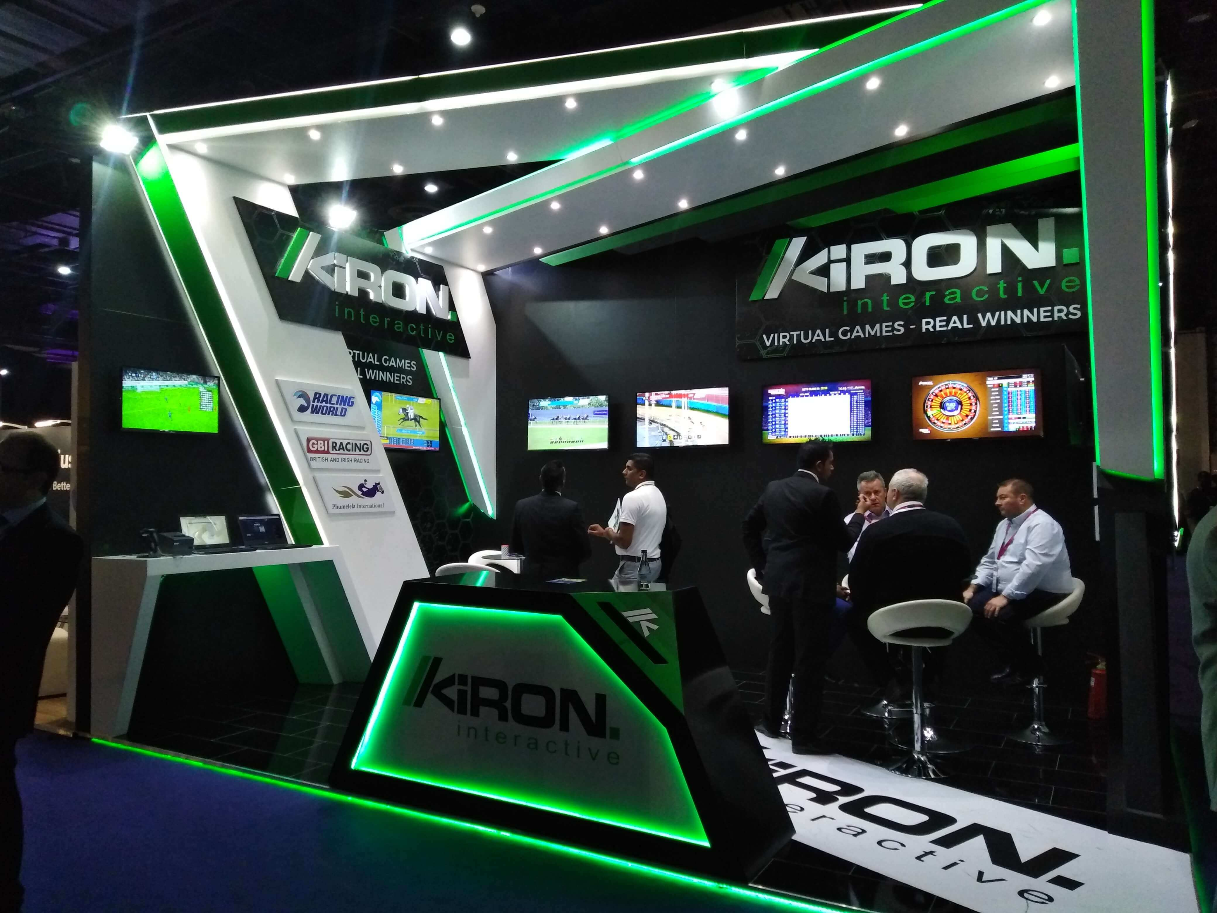 Kiron at ICE Africa 2018 - Slotegrator