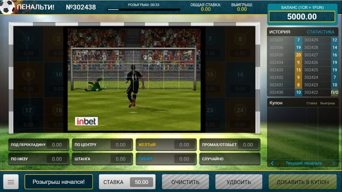 Penalty from InBet - Slotegrator