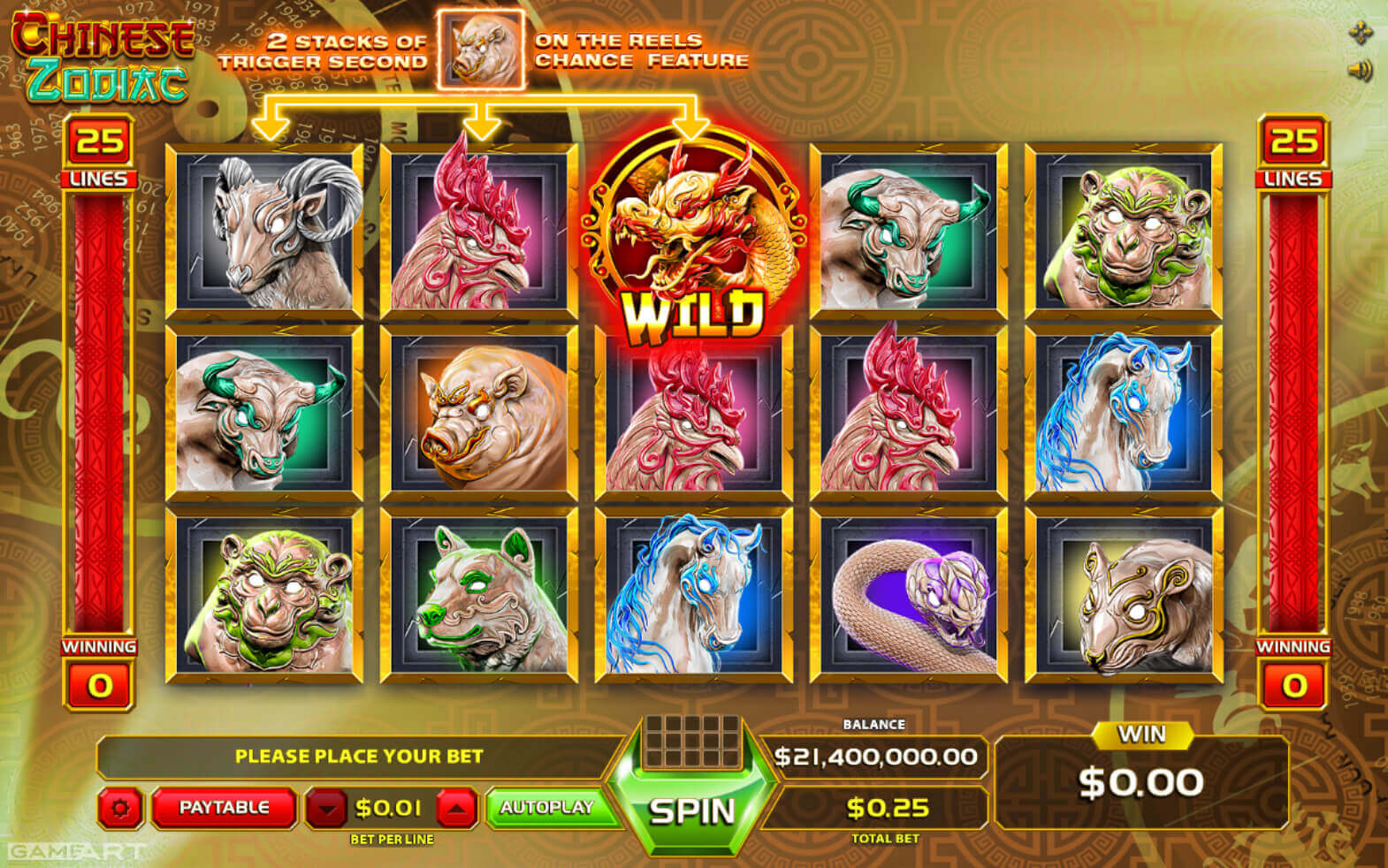 Deposit fortnite chinese zodiac slot machine online gameart head manager