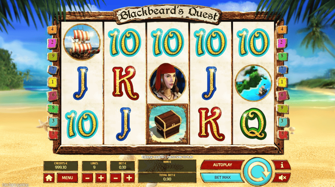 Blackbeard's Quest mini game - Slotegrator