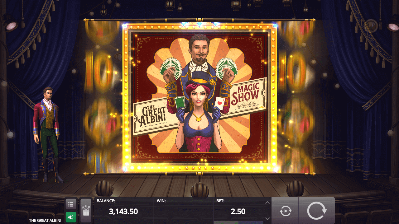 The Great Albini от Microgaming и Foxium - Slotegrator
