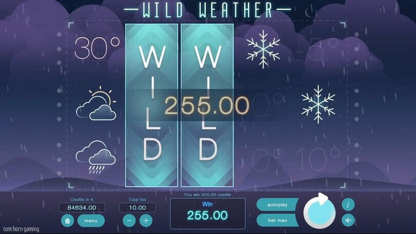 New slot Wild Weather announced by Tom Horn Gaming  1