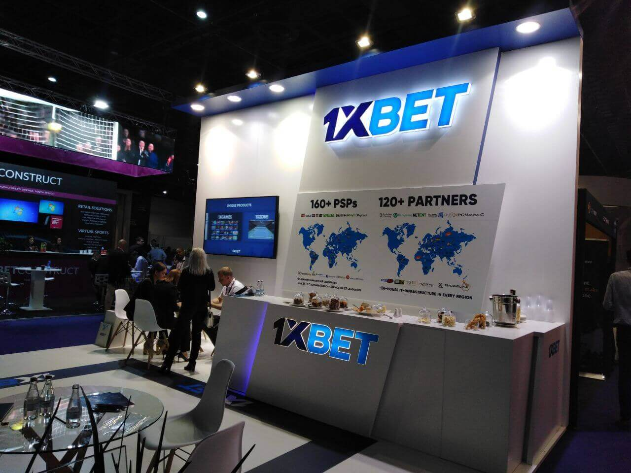 1 x Bet at ICE Africa 2018 - Slotegrator