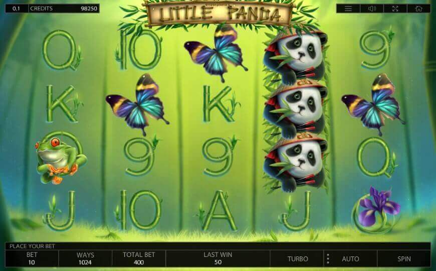 Inspired by Chinese province: new slot Little Panda from Endorphina 0