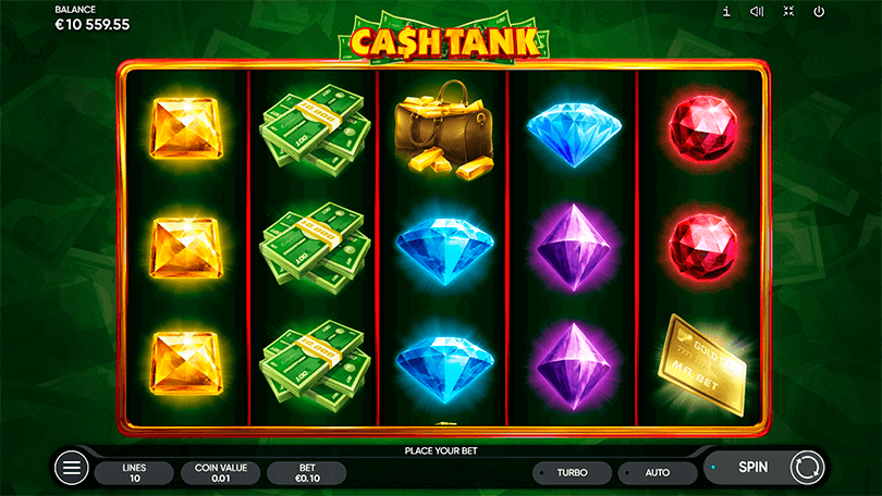 The New Slot from Endorphina, Cash Tank, Shoots Straight to the Heart  4