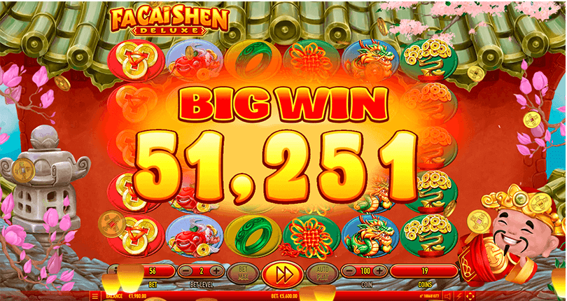 Fa Cai Shen Deluxe is The New Slot From Habanero 4