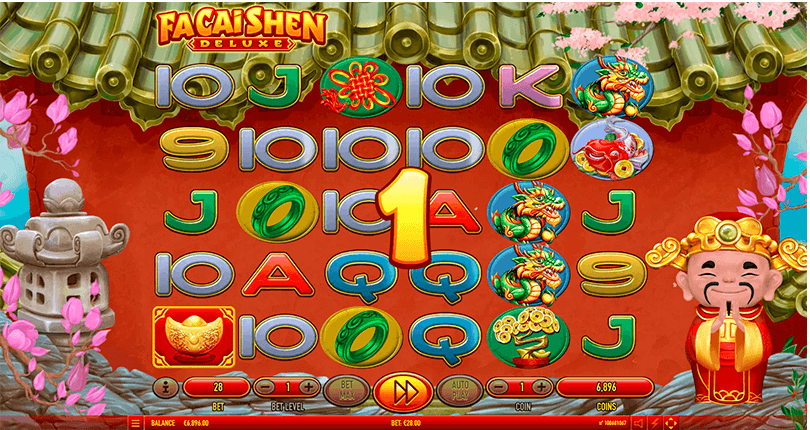 Fa Cai Shen Deluxe is The New Slot From Habanero 5