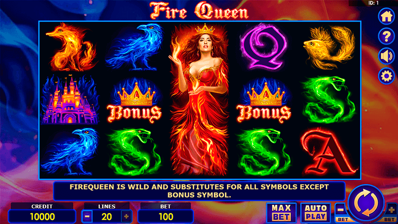 Fire Queen is the Hot New Slot From Amatic 0
