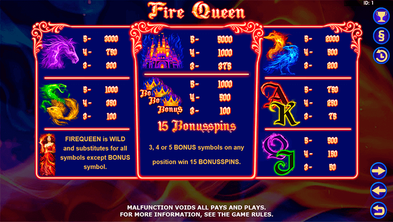 Fire Queen is the Hot New Slot From Amatic 1