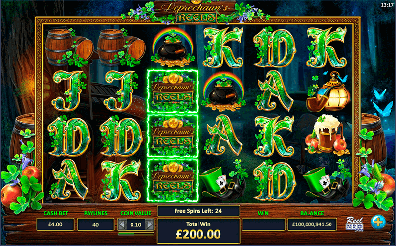 Players Will Jig For Joy With ReelNRG's New Slot, Leprechaun's Reels 1