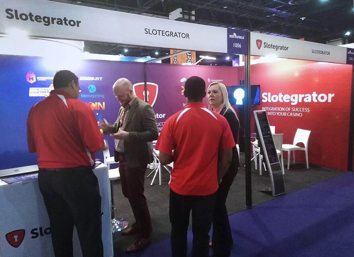 ICE Africa 2018 - Day 2- Slotegrator's booth