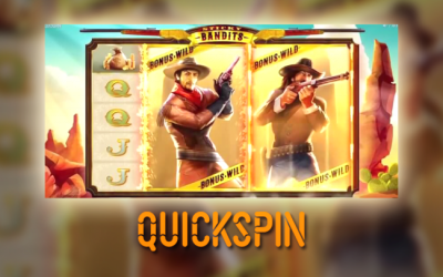 Quickspin's new slot Sticky Bandits to be launched soon