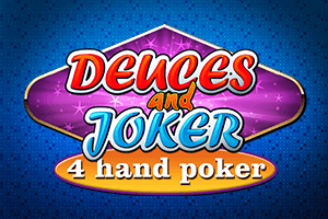Video Poker Joker Deuces Wild 4 Play