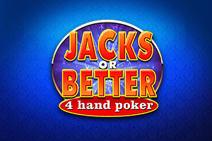 Video Poker Jacks or better 4 Play